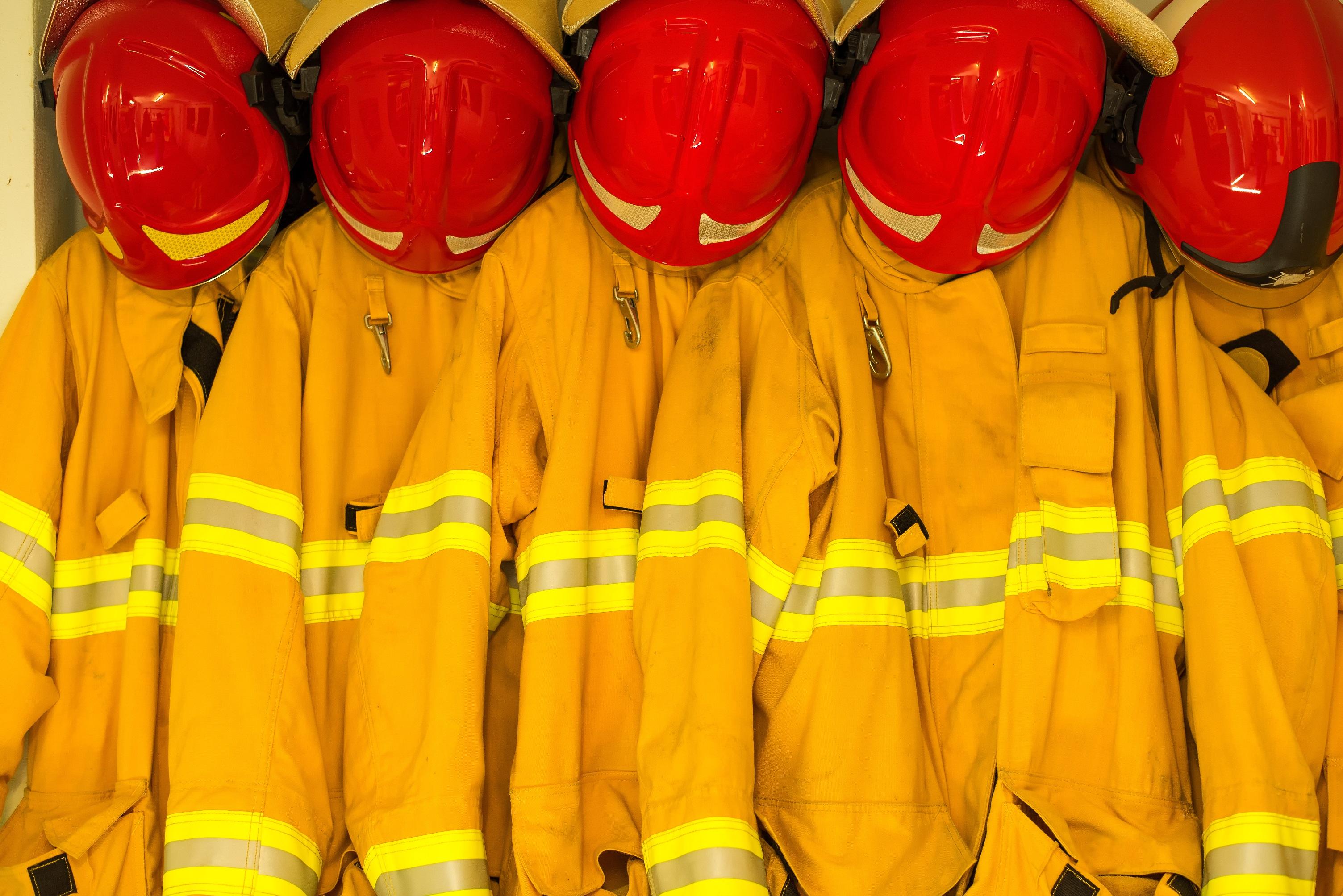 Fire Jackets and Helmets